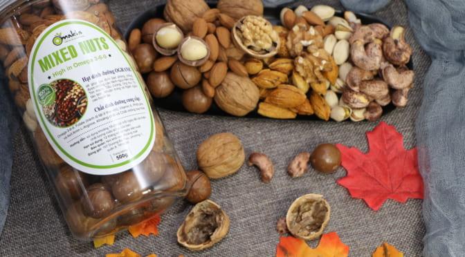 Lợi ích bất ngờ trong các loại hạt dinh dưỡng đối với cơ thể người